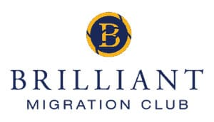 Brilliant Migration Club Logo