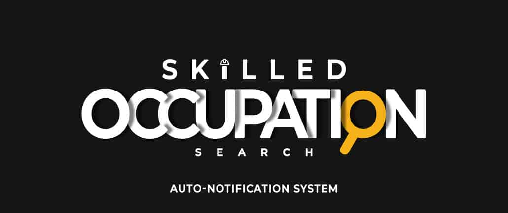 Skilled Occupation Search
